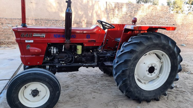 NEW HOLLAND Tractor NH 640 model 2016 total Genuine Condition Price Full review