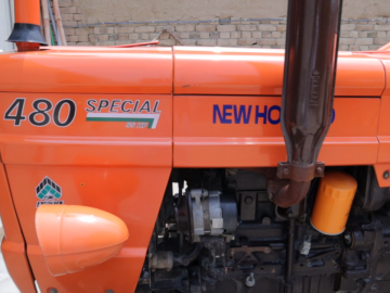 NH 480 Model 2018 Condition is just like a new tractor